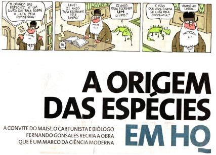 A-origem-das-espécies-em-HQ---2009-1