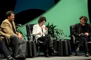Neil deGrasse e Neil Gaiman
