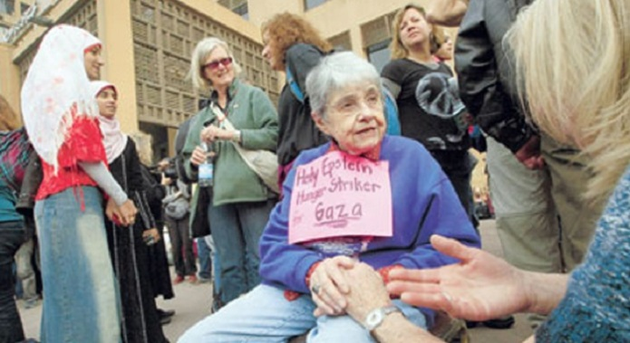 Hedy Epstein. 85 anos. Sobrevivente do holocausto
