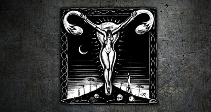 Crucified Woman - Eric Drooker