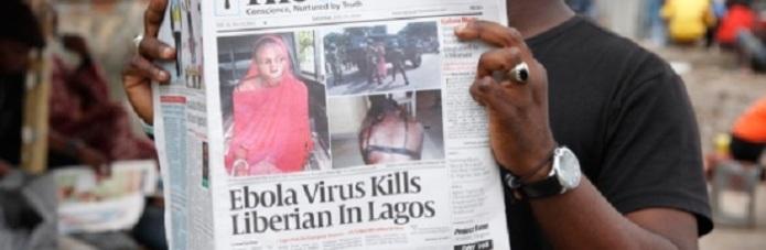 Ebola Newspaper