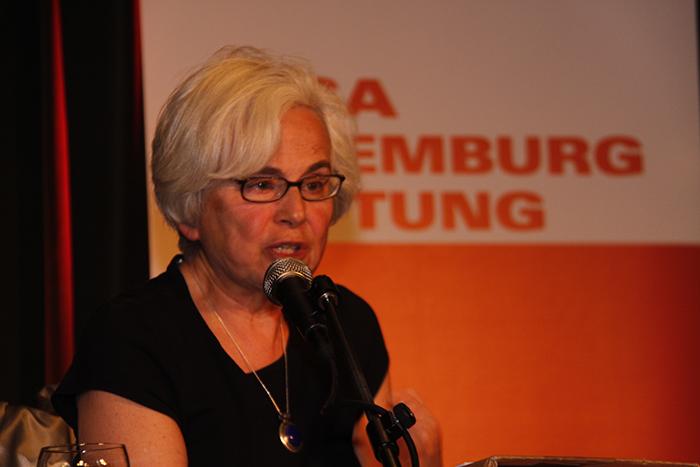 Theoretische Hintergründe der neuen Kämpfe. «Luxemburg Lecture» mit Ellen Meiksins Wood, 8.5.2012, Berlin http://www.rosalux.de/event/45899