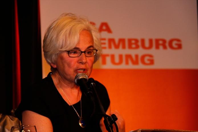 Theoretische Hintergründe der neuen Kämpfe. «Luxemburg Lecture» mit Ellen Meiksins Wood, 8.5.2012, Berlinhttp://www.rosalux.de/event/45899