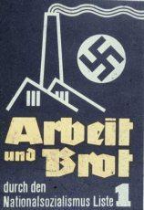 plakat006-weim-rep-arbeit-und-brot-Liste1-m-hakenkreuzsonne-1932